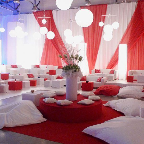 lounge, dekor, event, utställning